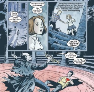 Page de Unwritten trouvé sur le site de  Forbidden Planet