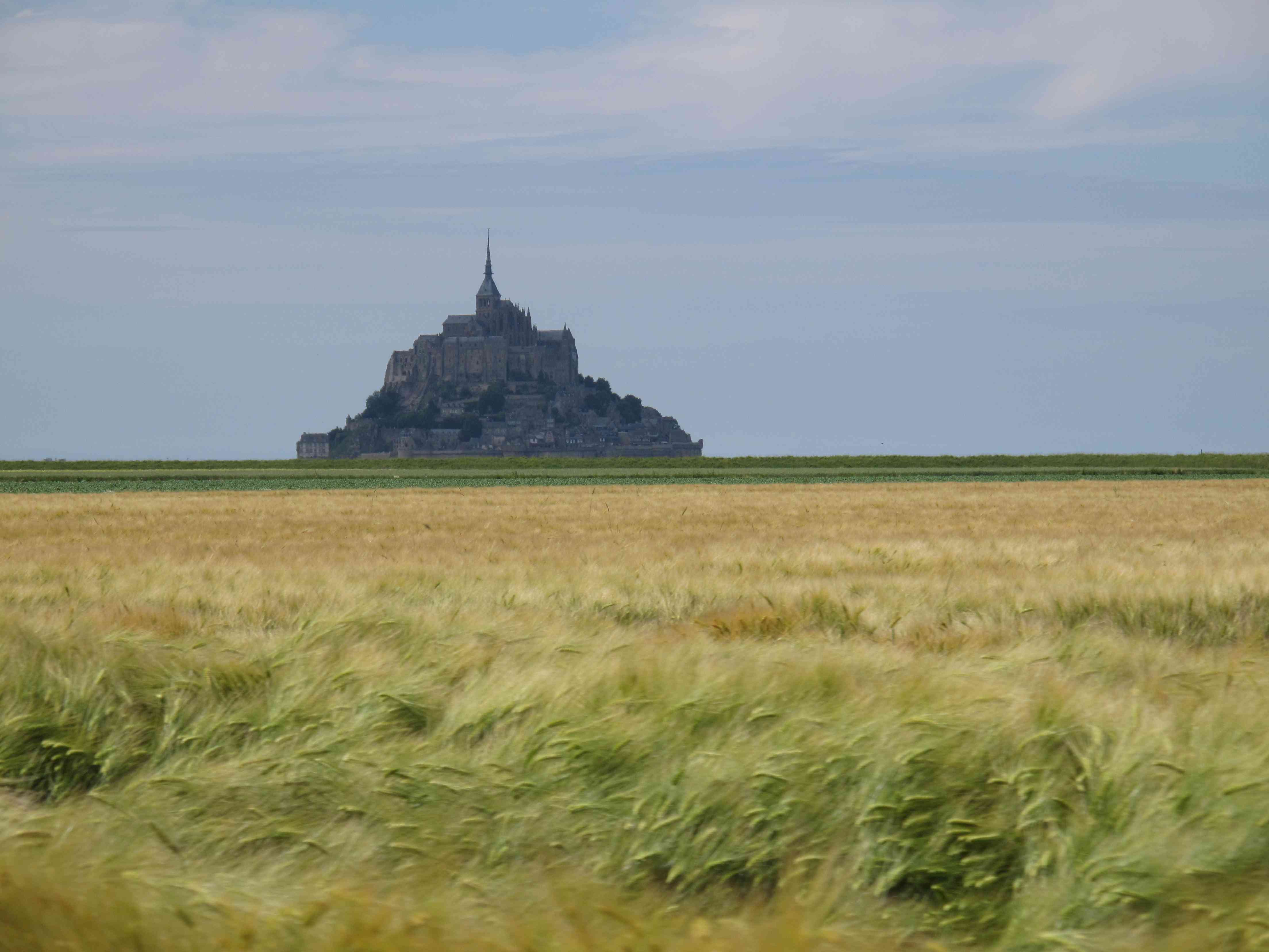 le-mont-st-michel, photo du blogue pelerins-et-nomades