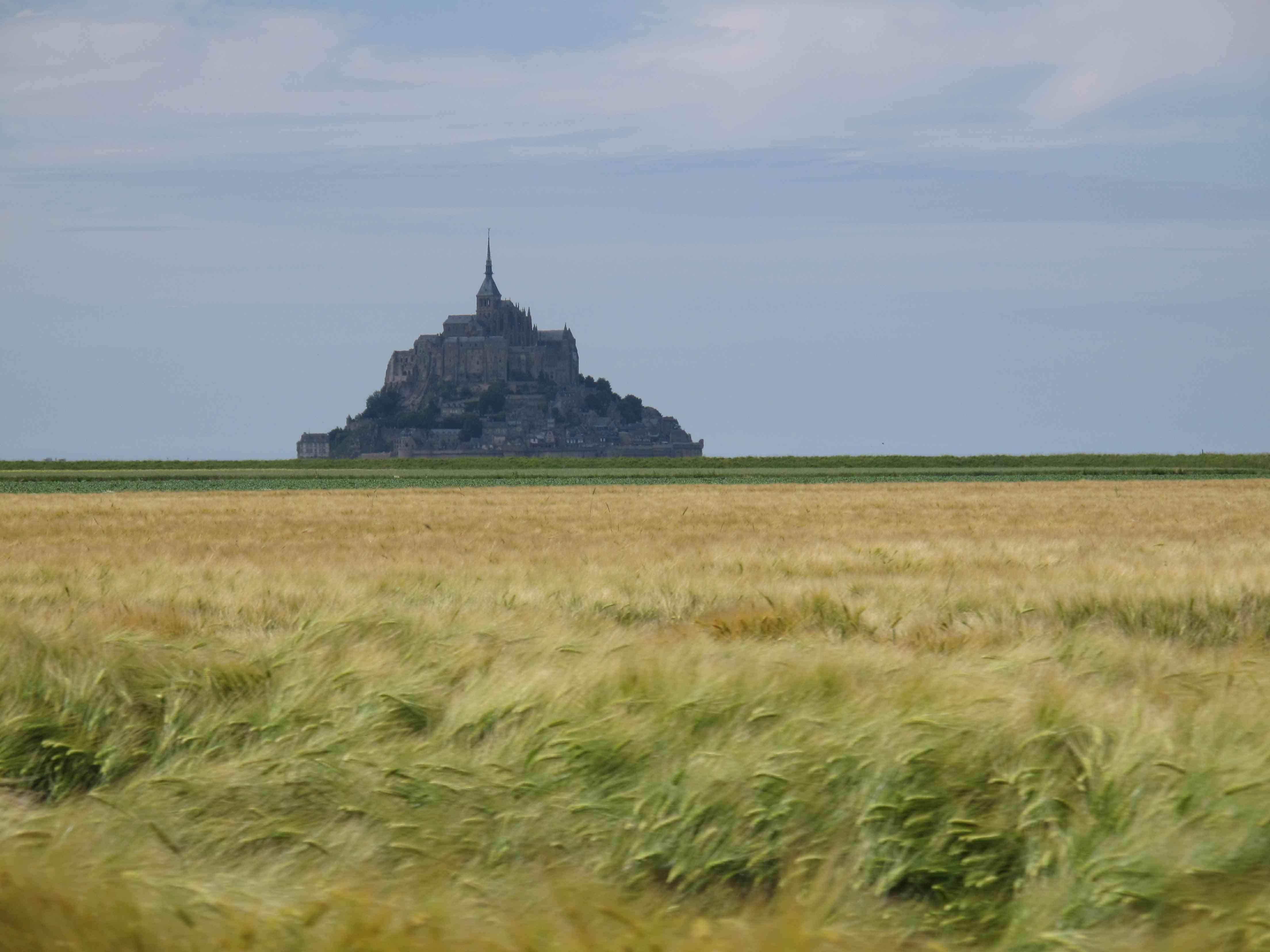 le-mont-st-michel, photo du blogue pelerins-et-nomades