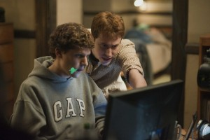 Les entrepreneurs du film The social network
