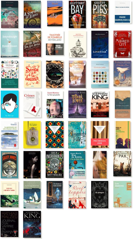 Tiré de ma liste Goodreads!