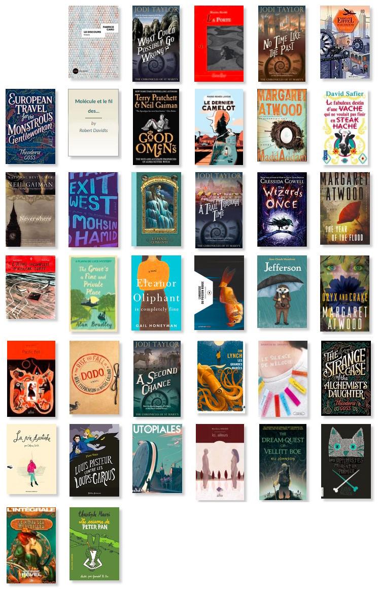 livres lus en 2018